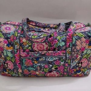 Disney Vera Bradley Iconic Large Travel Duffel Bag